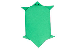 Origami turtle Royalty Free Stock Images