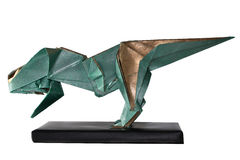 Origami Tyrannosaurus Rex Royalty Free Stock Images