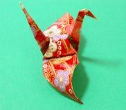 Origami und Schatten Lizenzfreie Stockfotos