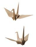 Origami Vogel stockfotos