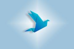 Origami Vogel Lizenzfreie Stockbilder