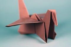 Origami Vogel Stockfotografie