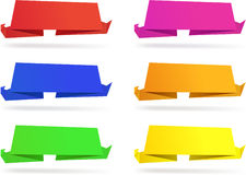 Origami wallpapers. Stock Image