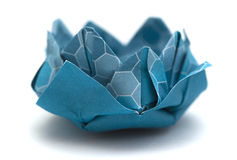 Origami water lily model Royalty Free Stock Photography
