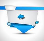 Origami Website - Elegant Design for Business Royalty Free Stock Photo