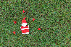 Origami Weihnachtsmann Stockfotos