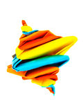 Origami whirligig Royalty Free Stock Photo