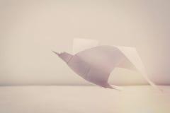 Origami wolności seagull obrazy royalty free