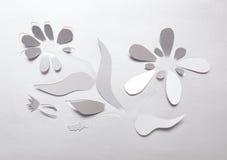 Origamiblomma Arkivfoton