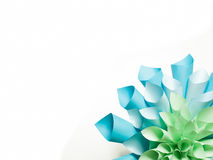 Origamidocument vorm Stock Afbeelding