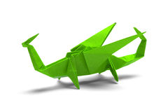 Origamidraak Stock Afbeelding