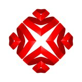 Origamielement vector illustratie