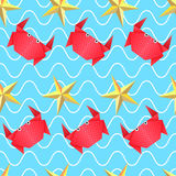 Origamihavsmodell Royaltyfri Foto