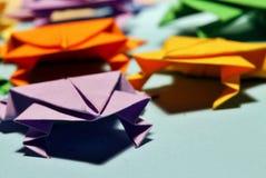 Origamikikkers Stock Fotografie