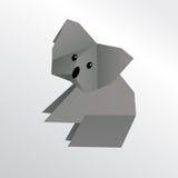 Origamikoala Lizenzfreies Stockfoto