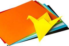 Origamikraan Stock Afbeelding