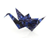 Origamin skyler över brister fåglar Royaltyfria Bilder