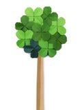 Origamin skyler över brister trädet Fotografering för Bildbyråer