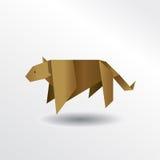 Origamipuma Lizenzfreie Stockbilder