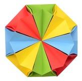 Origamiveelvlak Royalty-vrije Stock Afbeeldingen