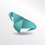 Origamiwalroß Lizenzfreie Stockfotos