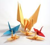 Origamizwaan royalty-vrije stock foto