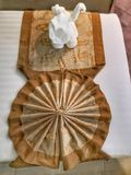 Origani полотенца стоковые фотографии rf