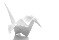 Origani japoński Żuraw Zdjęcia Stock