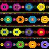 Origem étnica colorida, textura tradicional Fotografia de Stock