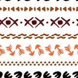 Origem étnica sem emenda colorido feito a mão Imagens de Stock Royalty Free