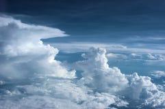 A origem das nuvens Imagens de Stock Royalty Free