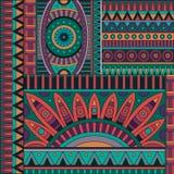 Origen étnico tribal del vector abstracto