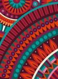 Origen étnico tribal del vector abstracto Fotografía de archivo libre de regalías