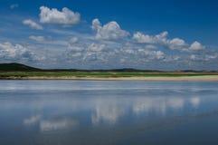 Origen del río Amarillo Foto de archivo libre de regalías