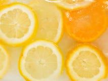 Origina-Frucht-Eiscreme Stockfotos