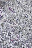 Originais de papel confidenciais shredded Imagens de Stock