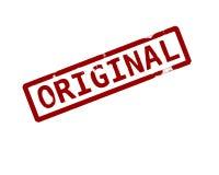 Original. Rubber ink stamp Vector Illustration