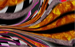 Original Abstract colorful Background Stock Image