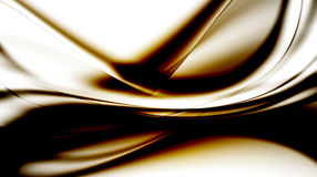 Original abstraction. In bog-brown tones Stock Images