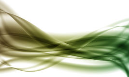 Original abstraction. In green tones stock illustration