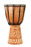 Original african djembe drum Stock Photos