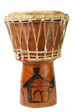 Original african djembe drum Stock Image