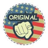 Original- Amerika Royaltyfria Bilder