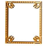 Original Art Deco Style Frame Stock Image