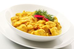 Asian curry Chicken dish royalty free stock photos