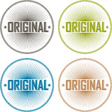 Original badges Royalty Free Stock Image