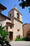 Original bell tower at Mission San Carlos Borromeo Royalty Free Stock Images
