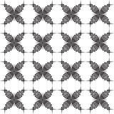 Original black and white pattern Stock Photography