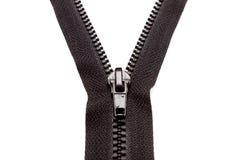 Original black zipper. Photo of original black zipper Royalty Free Stock Photos