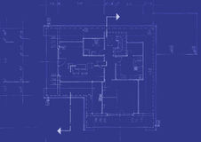 Original Blueprint Stock Image